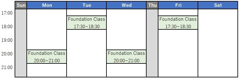liberty-english-academy-foudation-class-time-table