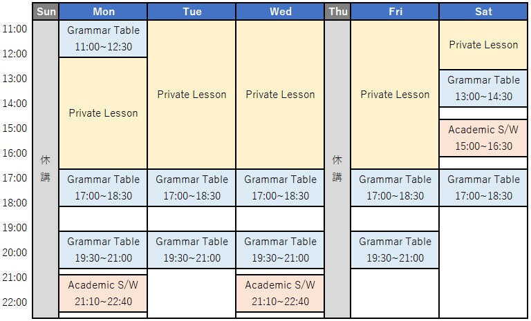 liberty-english-academy-grammar-table-time-table